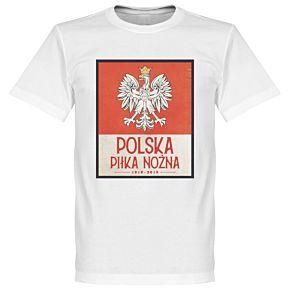 Poland Centenary Tee - White