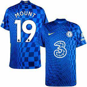 21-22 Chelsea Home Shirt + Mount 19 (Premier League)