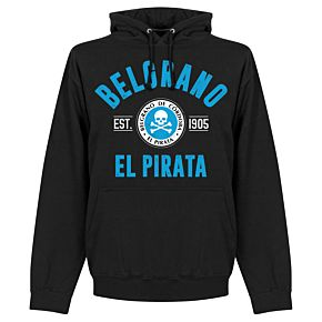 Belgrano Cordoba Established Hoodie - Black