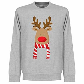 Reindeer LFC Supporters Sweatshirt - Grey
