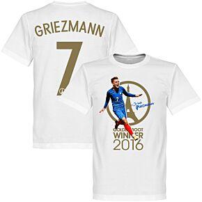 Je Suis Griezmann France 2016 Golden Boot Winner KIDS Tee - White