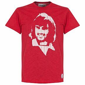 Copa George Best Repeat Logo Tee - Red