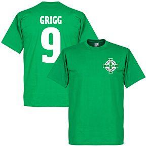 Northern Ireland Crest Grigg Tee - Green