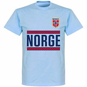 Norway Team KIDS T-shirt - Sky Blue