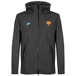 Nike Barcelona Tech Pack Hoodie - Grey 2019-2020