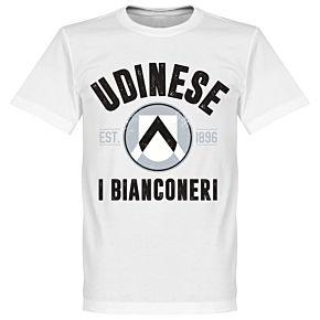 Udinese Established T-Shirt - White