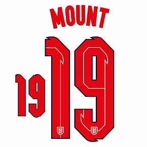 Mount 19 (Official Printing) - 20-21 England Home