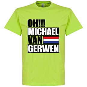 Oh Michael van Gerwen Tee - Apple Green