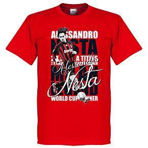 Alessandro Nesta Legend Tee - Red