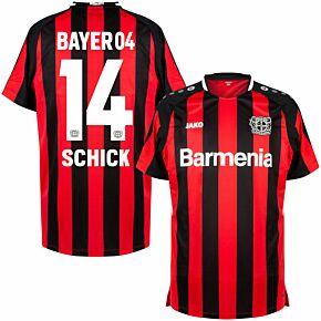 21-22 Bayer Leverkusen Home Shirt + Schick 14 (Official Printing)