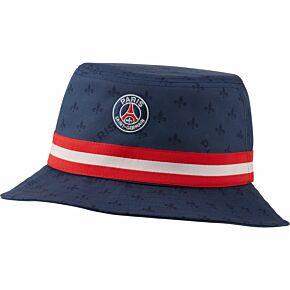 21-22 PSG x Jordan Bucket Hat - Navy