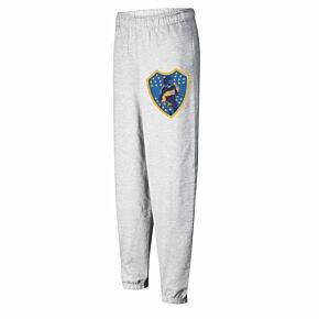 Boca Maradona Crest Sweat Pants - Grey Heather