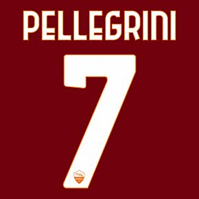 Pelligrini 7 (Official Printing) - 20-21 AS Roma Home/3rd