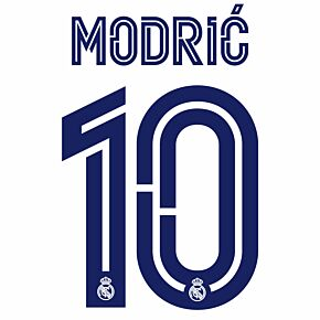 Modrić 10 (Official Printing) - 20-21 Real Madrid Home