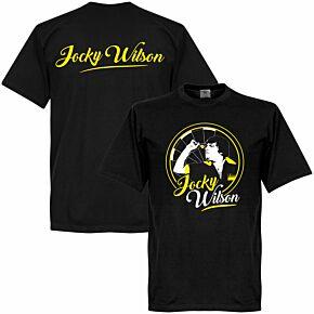 Jocky Wilson Tee - Black