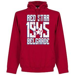 Red Star Belgrade 1945 Hoodie - Red