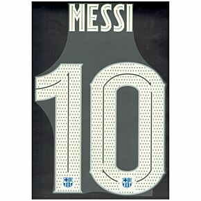 Messi 10 (Official Cup Printing) - 21-22 Barcelona Home
