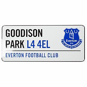 Everton Street Sign (40cm x 18cm approx)