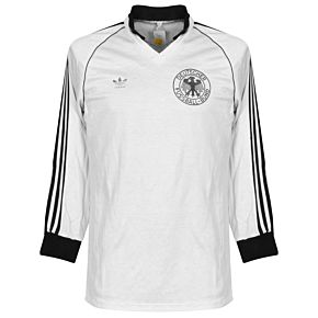 adidas Germany 1980-1982 Home L/S Jersey - USED Condition (Great) - Size Large