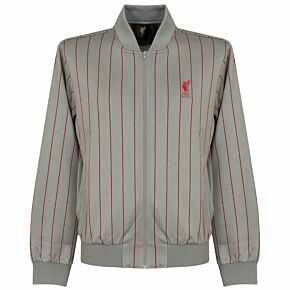 Liverpool Retro Jacket - Grey/Red