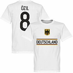 Germany Özil 8 Team Tee - White