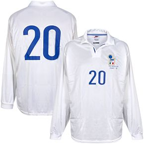 Nike Italy World Cup FIFA 98Away L/S No.5 PlayersShirt - Size L