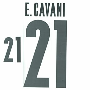 E. Cavani 21 (Official Printing) 21-22 Uruguay Home