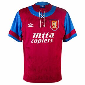 Umbro Aston Villa 1992-1993 Home Shirt - USED Condition (Very Good) - Size L
