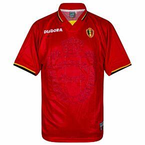 Diadora Belgium 1996-1997 Home Shirt NEW (w/tags) Condition (Excellent) - Size XL