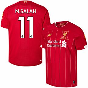 19-20 Liverpool Home P/L Champions Home Shirt + M.Salah 11