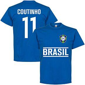 Brasil Coutinho Team Tee - Royal