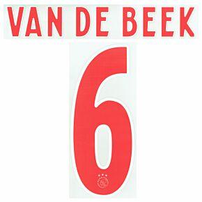 Van de Beek 6 (Official Printing) - 20-21 Ajax Away