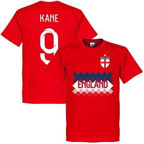 England Kane 9 Team Tee - Red