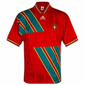 adidas Portugal 1992-1993Home Shirt - USED Condition(Good) - Size Large
