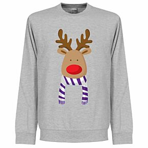Reindeer Real Supporters KIDS Sweatshirt