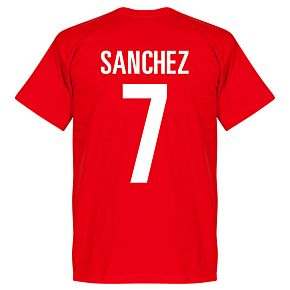 Chile Sanchez Tee - Red