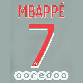 Mbappé 7 - 20-21 PSG Home (Official Printing)