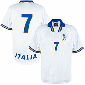 Nike Italy 1996-1998 Player Issue No.7 (Donadoni) Away Jersey - NEW (w/tags) - Size XL