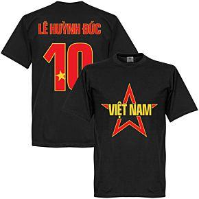 Vietnam Le Huynh Duc Star Tee - Black