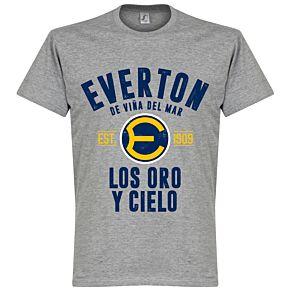 Everton de Chile Established Tee - Grey