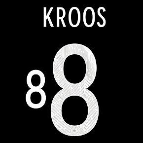 Kroos 8 (Official Printing) - 20-21 Germany Away
