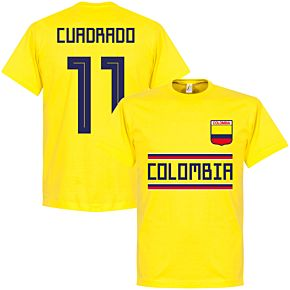 Colombia Cuadrado 11 Team Tee - Yellow
