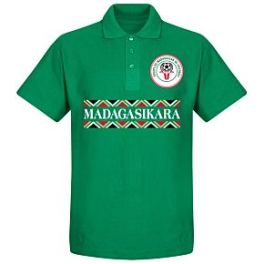 Madagascar Team Polo Shirt - Green