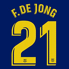 F.De Jong 21 (Match Pro Printing)