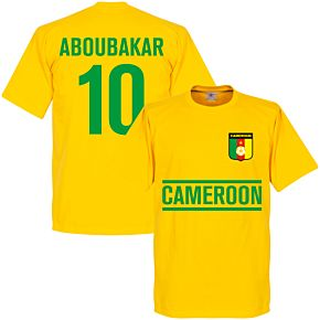 Cameroon Aboubakar Team Tee - Yellow