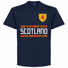 Scotland Team Tee - Navy