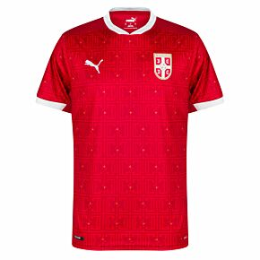 20-21 Serbia Home Shirt