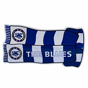 Chelsea Show Your Colours Sign (18 x 9cm Approx)