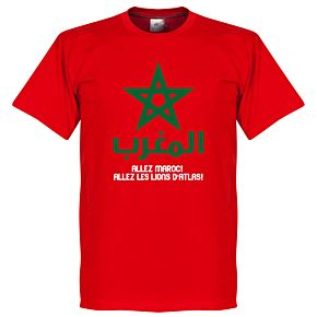 Allez Marocco Tee - Red