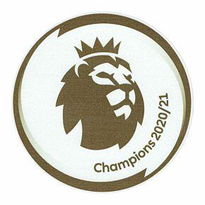 21-22 Premier League Champions Patch (Man City) - Player Size (80mm)